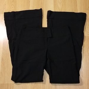 Tess made in Canada black flared dress pants 11